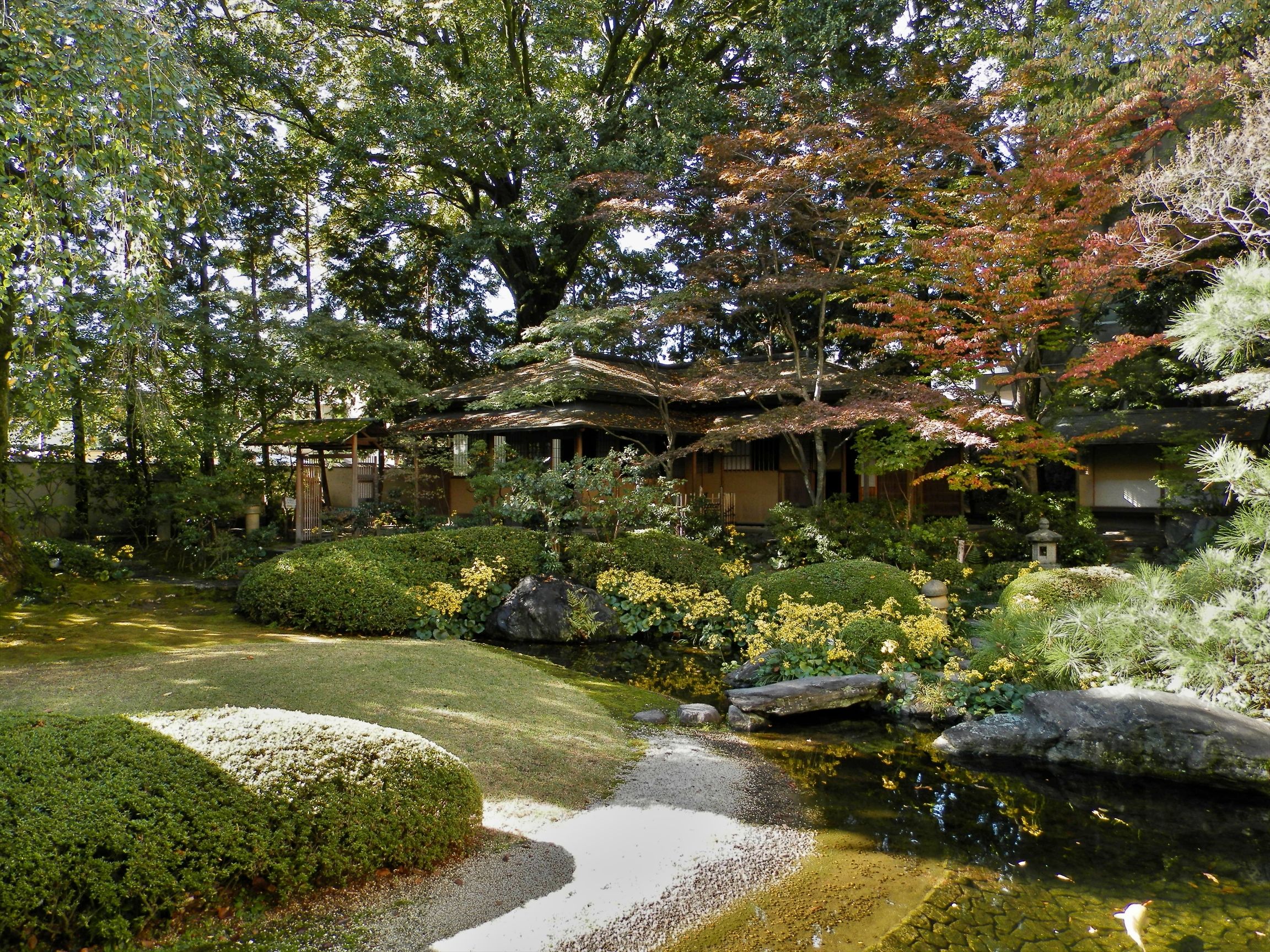 Kyoto Prefectural Guest House 京都府公館 - Japonia Hortus